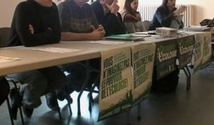 EELV lance sa campagne des cantonales (Clermont)