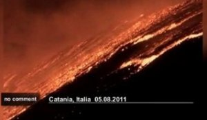 Italie: éruption de l'Etna - no comment