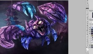 League of Legends - Skarner Art Spotlight