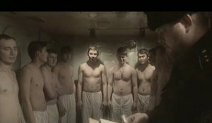 "Naval officers by  Alexander Sokurov  in ""Confession"""