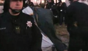 Occupy : la police expulse les indignés en Californie