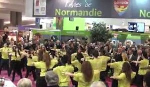 SIA 2012 : Flash'mob, made in Normandie