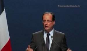Meeting de François Hollande à Strasbourg