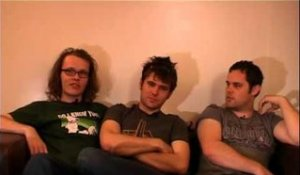 Scouting For Girls 2008 interview - Greg, Roy and Peter (part 2)