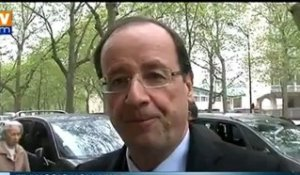 Le Normand François Hollande derrière Quevilly