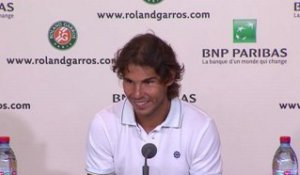 Nadal's interview before his final in 2012