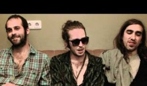 Crystal Fighters interview - Sebastian Pringle, Gilbert Vierich, and Graham Dickson (part 2)