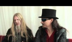 Nightwish interview - Tuomas Holopainen and Marco Hietala (part 3)