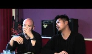 The Temper Trap interview - Dougy Mandagi and Joseph Greer (part 3)