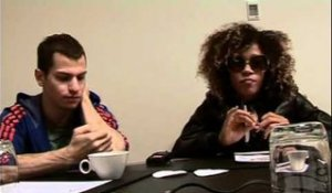 Little Jackie interview - Imani Coppola and Adam Pallin (part 2)