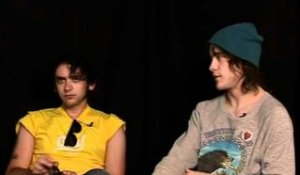 MGMT interview - Andrew Van Wyngarden and Ben Goldwasser (part 3)