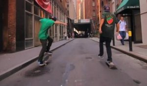 Red Bull - Skaters in New York With Torey Pudwill 2012