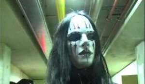 Slipknot 2005 interview - Joey Jordison (part 1)