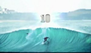 Rip Curl Pro Portugal 2012 - Ten-point rides