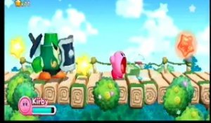 Kirby's Adventure Wii : Boss Gigalame monde 1-2