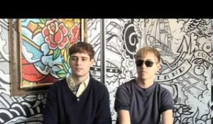 The Drums 2010 interview - Jonathan and Jacob (part 3)