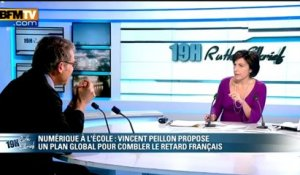 Vincent Peillon, l'invité de Ruth Elkrief