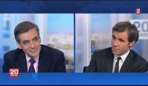Interview au Journal de 20H sur France 2