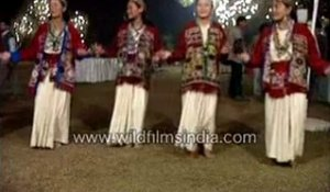 Dancers from Arunachal Pradesh, India