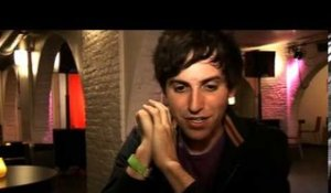 The Pains of Being Pure at Heart 2009 interview - Kip (part 4)