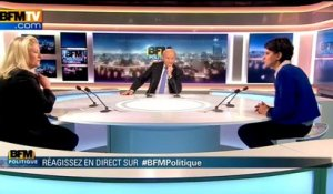 BFM Politique : l'interview BFM business, Najat Vallaud-Belkacem répond aux questions d'Edwige Chevrillon