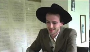 The Veils 2006 interview - Finn Andrews (part 1)