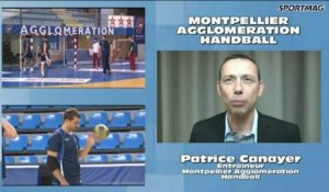 SPORTMAG Jean-Pierre Moure Montpellier Agglomération Handball
