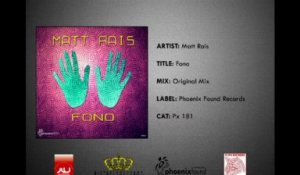Fono (Original Mix) - Matt Rais