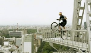 Trials Biking on a Tower - Kenny Belaey  - 2012