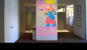 Post-it Note Arcade Stop Motion Animation