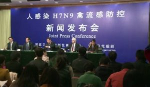 Grippe aviaire H7N9 en Chine: pas de transmission interhumaine