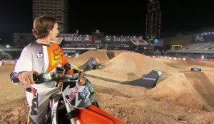 Track Testing - Ronnie Renner - Red Bull X-Fighters World Tour - Dubai - 2013
