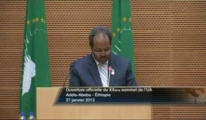 DISCOURS - Hassan Sheikh MOHAMOUD - Somali