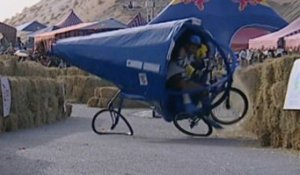 Funny Moments & Crashes - Red Bull Soapbox Race 2013 Oman