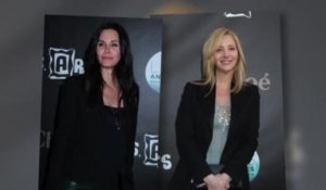 Courteney Cox rejoint son amie Lisa Kudrow