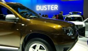 Dacia Duster - En direct du salon de Genève 2010