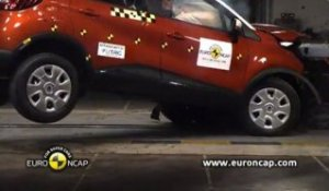 Crash-test Euro NCAP - Renault Captur