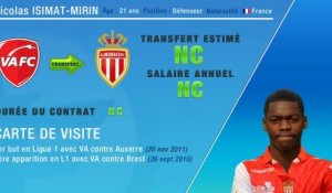 Officiel : Isimat-Mirin signe à l'AS Monaco
