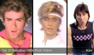 Top 10 Ridiculous 1980s Music Videos