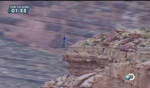 Nik Starts His Grand Canyon Walk  Skywire Live