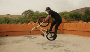 Flatland BMX in India - Red Bull Street Maharaja 2013