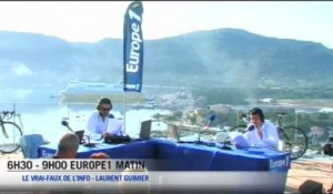 Europe 1 Matin spécial Tour de France - Le Zapping