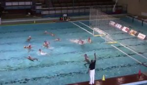 Water Polo : France - Angleterre 3ème Quart Temps