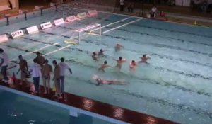 Water Polo : Slovaquie - France 2nd Quart Temps