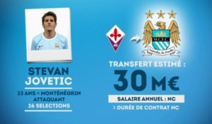 Officiel : Jovetic à Manchester City !