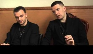 Hurts interview - Theo and Adam (part 1)