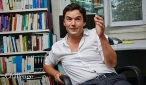 Séance photo avec Thomas Piketty, par Bruno Lévy