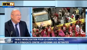 Michel Sapin: l'invité de Ruth Elkrief - 11/09