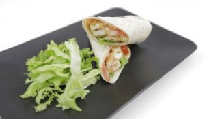 MC Wrap Poulet Bacon - 750 Grammes