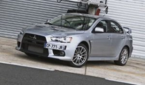 Supertest Mitsubishi Lancer Evolution